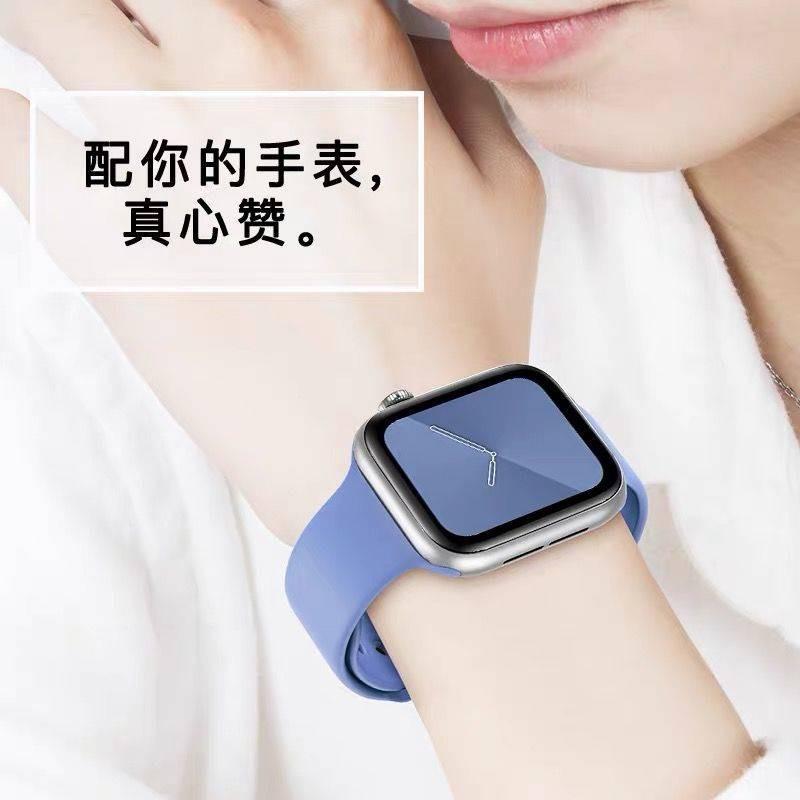 💥 สาย applewatch 🔥 สายรัด Applewatch สายซิลิโคนสายนาฬิกา Apple ระบายอากาศได้และกันน้ำ iwatch2 / 3/4/5 universal