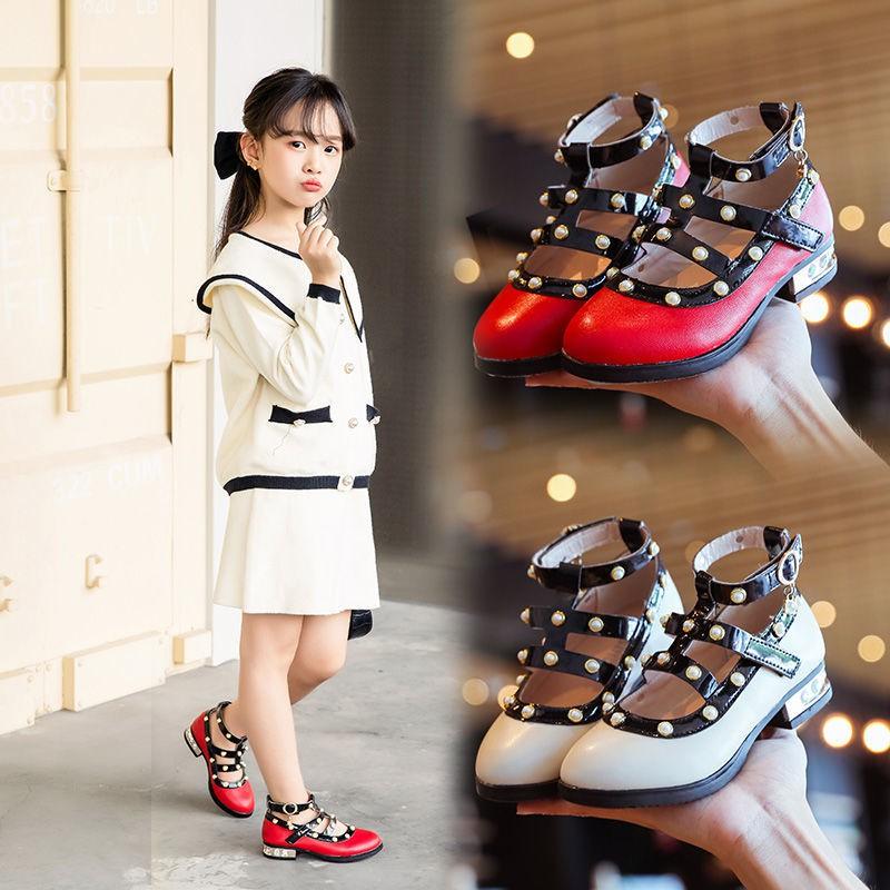 รองเท้าคัชชูเด็ก รองเท้าเด็กเล็ก รองเท้าเด็กโต (ยาว=ความยาวพื้นในรองเท้า) รองเท้าออกงานเด็ก