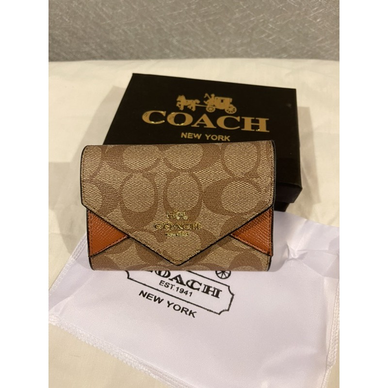 กระเป๋าสตางค์ coach ใบสั้น 3พับ