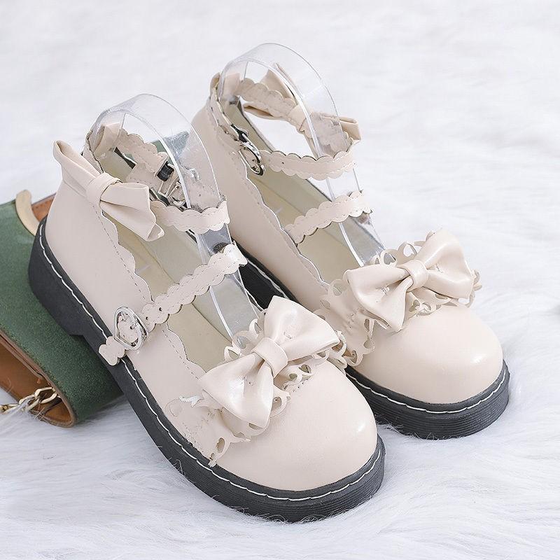 🎀🎀 พร้อมส่ง‼️ 🎀🎀คัชชูเปิดส้นสูง  รองเท้าคัชชูหัวแหลมเปิดส้นผ้ากระสอบ ส้นสูง/ส้นใหญ่ แฟชั่น FAIRY รองเท้า bigsize