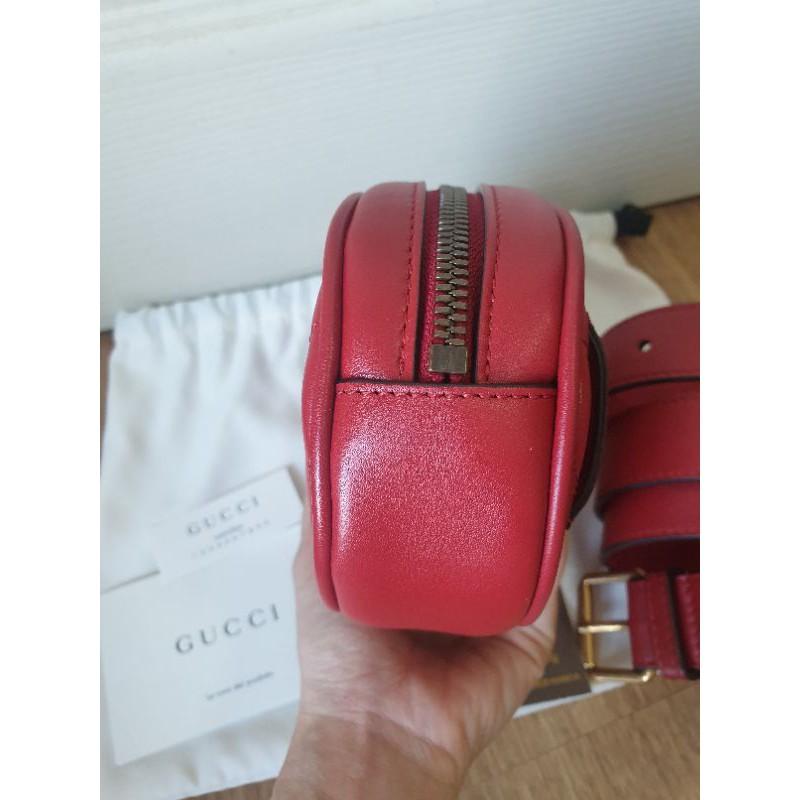 gucci marmont belt bag แท้100%