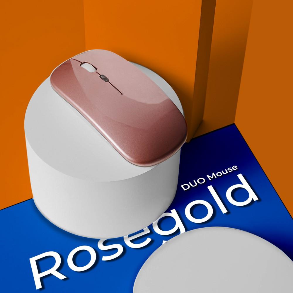 Mouse สำหรับ iPad รุ่นใหม่ เชื่อมต่อได้สองระบบ Bluetooth และ เชื่อมต่อผ่าน USB-A มาพร้อมกับไฟ RGB โดย AppleSheep kmSr