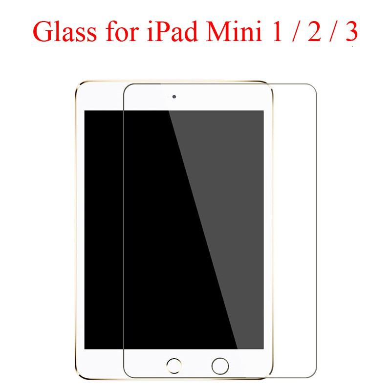 """Tempered Glass Screen Protector Cover For Apple ipad mini 1//2//3 7.9/"""" Tablet"""