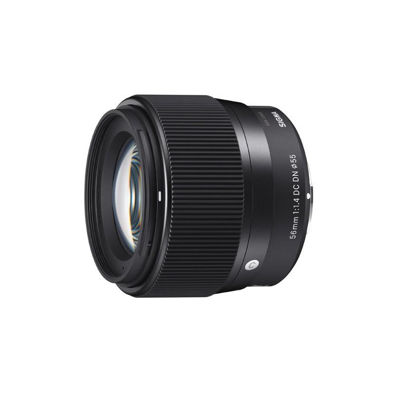 ขายกล้อง SLR พร้อมเลนส์เดี่ยวมิเรอร์เลสและเลนส์มุมกว้างพิเศษรับส่วนลด 40%Sigma / 56mm F1 4 DC DN รูรับแสงขนาดใหญ่เลนส์ก