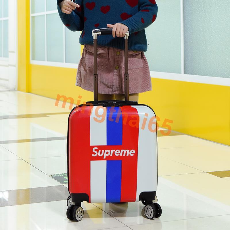 รถเข็นเด็กกระเป๋าเดินทางการ์ตูนกระเป๋าเดินทางล้อสากลกระเป๋าเดินทางเด็กกระเป๋าเดินทาง