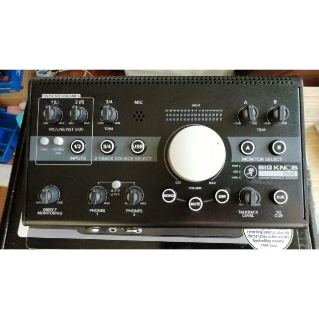 MACKIE Big Knob Studio เครื่องควบคุมลำโพงมอนิเตอร์MONITOR CONTROLLER จากแบรนด์MACKIE
