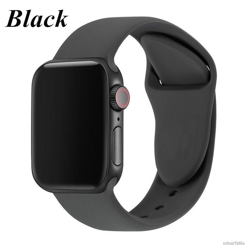 ถูกที่สุด✷◐สาย applewatch สายซิลิโคน smart watch