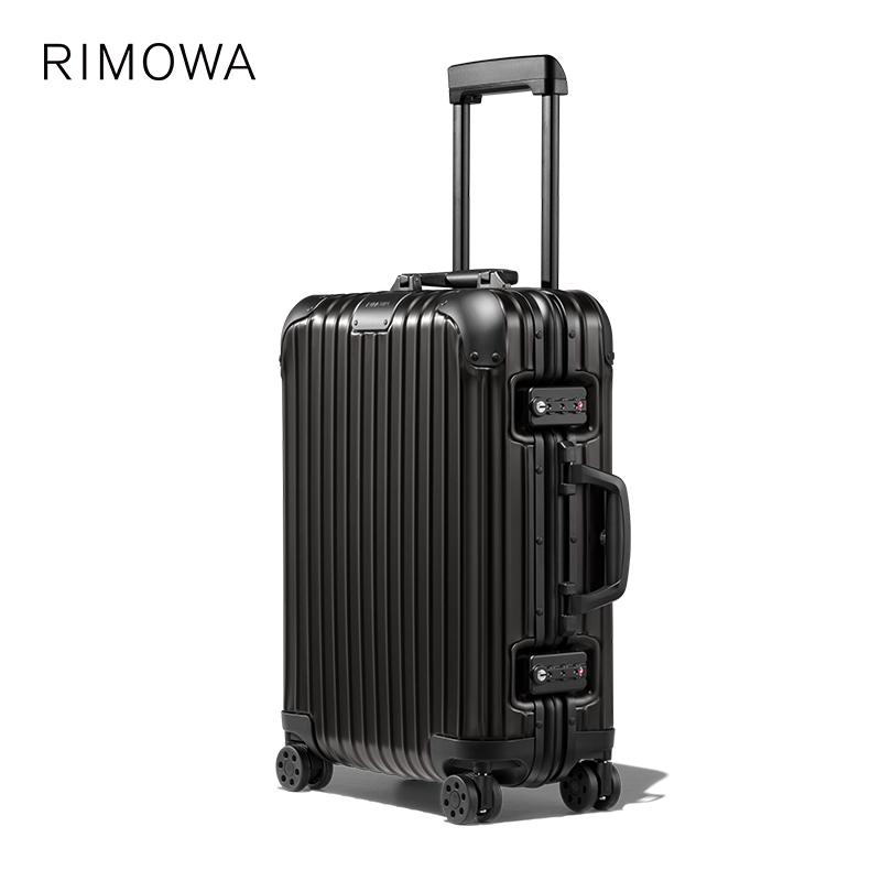ℍ❀Rimowa/rimewa original21นิ้วรถเข็นกระเป๋าเดินทางขึ้นเครื่องร้านเรือธงอย่างเป็นทางการ