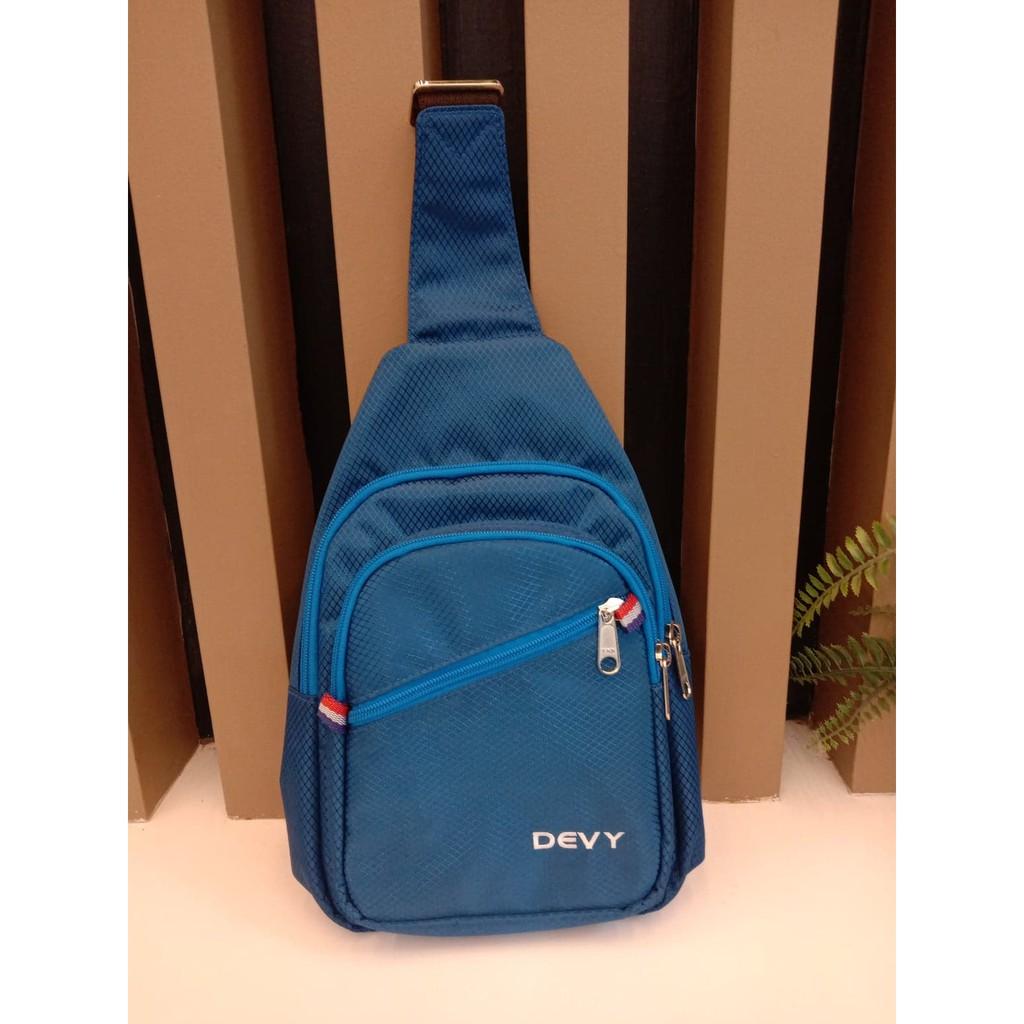 กระเป๋าสะพาย Devy รุ่น033-1039สีฟ้า