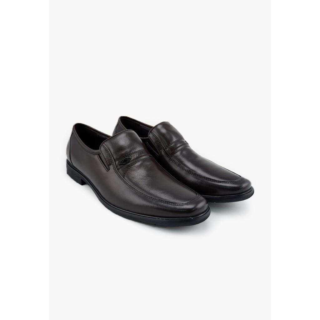 LUIGI BATANI รองเท้าคัชชูหนังแท้ รุ่น LBD0116-41 สีตาล