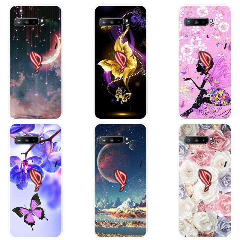 เคสสำหรับ Asus ROG Phone 3 ZS661KS เคส เคสซิลิโคน Soft Back Cover Asus ROG Phone 3 Phone3 Case Silicone