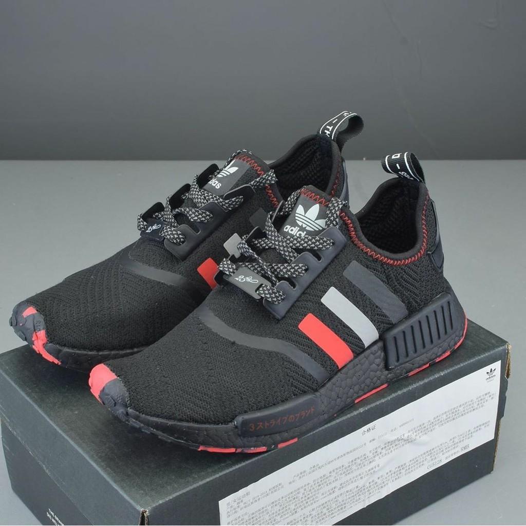 [PK_God]  รองเท้าAdidas NMD R1 Black/ Red / White สุดฮิต!! พ