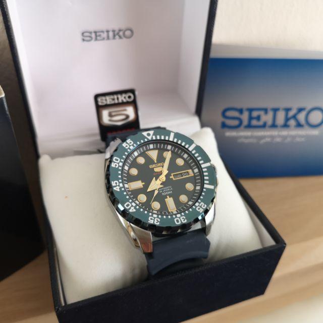 SEIKO 5 Sports Mini Monster รุ่น SRP605K2 ประกันศูนย์ Seiko