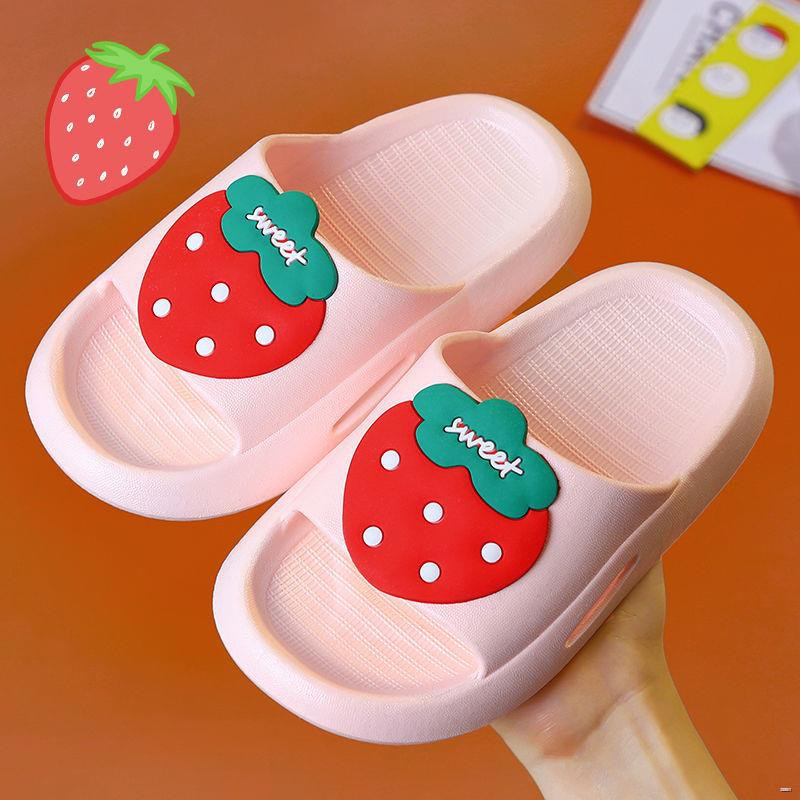 ยางยืดออกกําลังกาย☸☎(รองเท้าเด็ก รองเท้าแตะเด็ก)  รองเท้าแตะเด็กเด็กหญิงเด็กชายเด็กชายฤดูร้อนน่ารักกันน้ำและกันลื่นรองเ