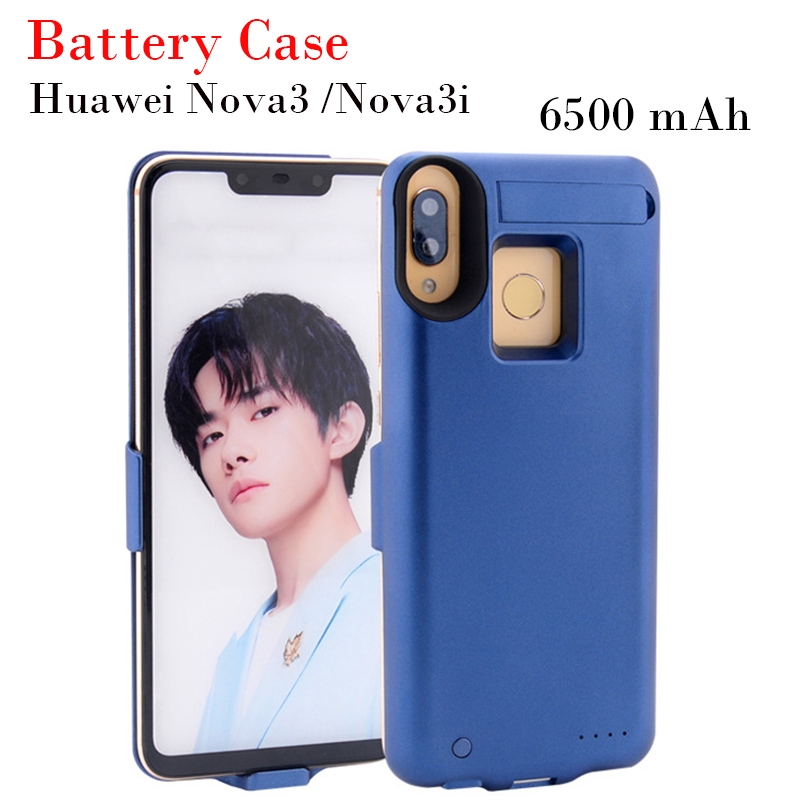 Backup Battery Case For Huawei Nova 3  รองรับชาร์จเร็ว แบตเตอรี่สำรอง for Nova 3i แบตสำรอง 6500mAh Power Bank