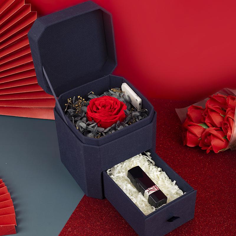 ǎ❋shopeethDior Dior Lipstick Women's Gift Box 999 Maple Leaf Red Auntie Color Set Big Brand Limited Birthday Gift ของแท้