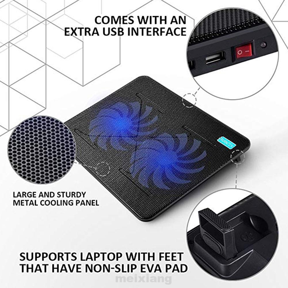 Practical Notebook Laptop Accessory Radiator Cooling Fan Laptop Computer Cooler