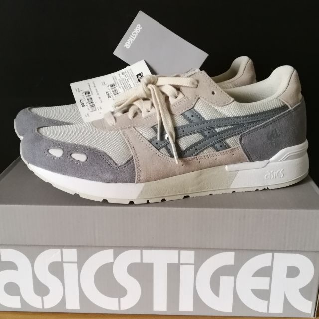Cierto bostezando Movilizar  ของแท้ มือ1 Asics Tiger Gel Lyte BIRCH/STONE GREY sneakers US 10 EUR 44 28  cm ใหม่ รองเท้าผ้าใบOnitsuka Tiger Asicstiger | Shopee Thailand