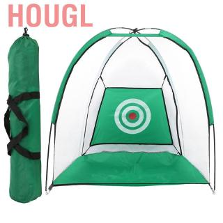 Hougl Golf Training Net Indoor Outdoor Foldable Practice Tent Hitting Cage Home Garden Grassland Equipment 1M