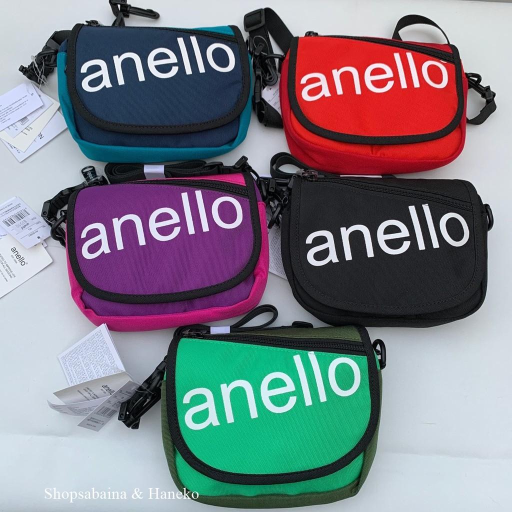 Anello (หิ้ว Shop ) mini SLANTINNG Shoulder Bag กระเป๋าคาดเอว กระเป๋าสะพายข้าง คาดอก ห้อยคอ
