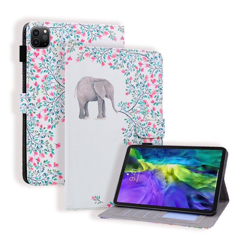 iPad 7th Generation Air 2019 10.2 10.5 inch 2020 Flip Case with Apple Pencil Holder Leather Cartoon Card Slots Stand Cover