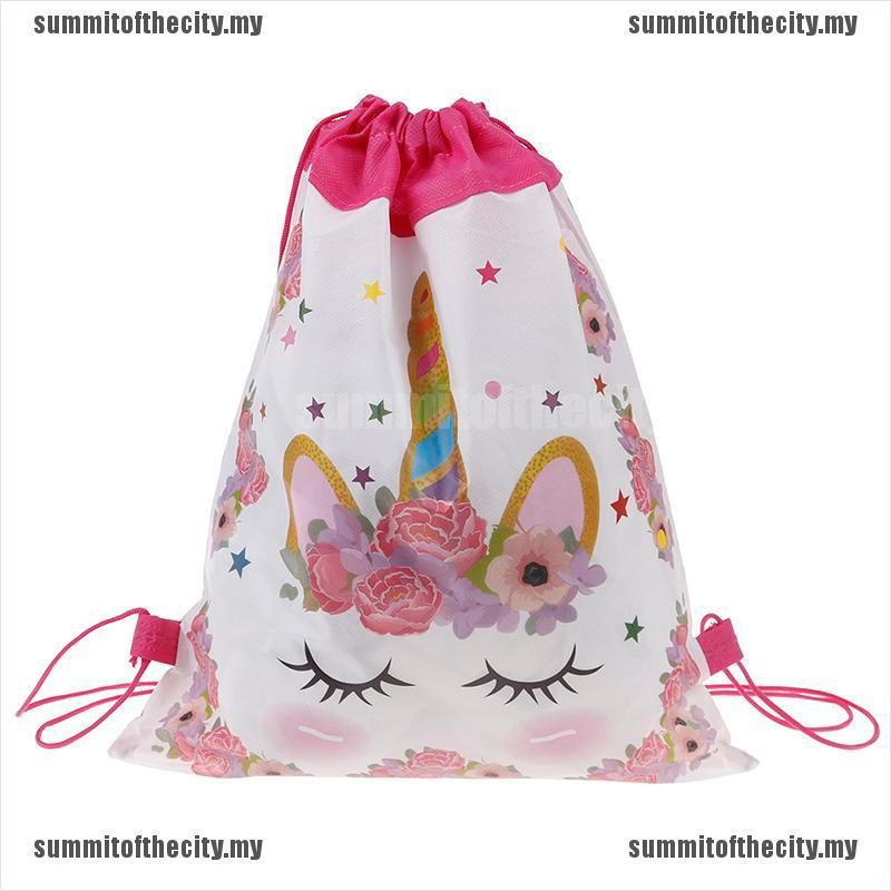 Sum กระเป๋าเป้สะพายหลังสําหรับเด็กลาย Unicorn เหมาะกับการพกพาเดินทาง