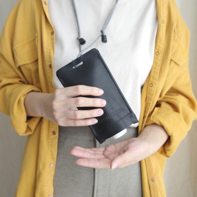 แถมฟรี! เจลล้างมือ กระเป๋าใส่หลอดบีบอเนกประสงค์แบบพกพา ปรับสายได้ ใช้ห้อยคอ คาดตัว สะดวกใช้ Beep bag WHITEOAKFACTORY