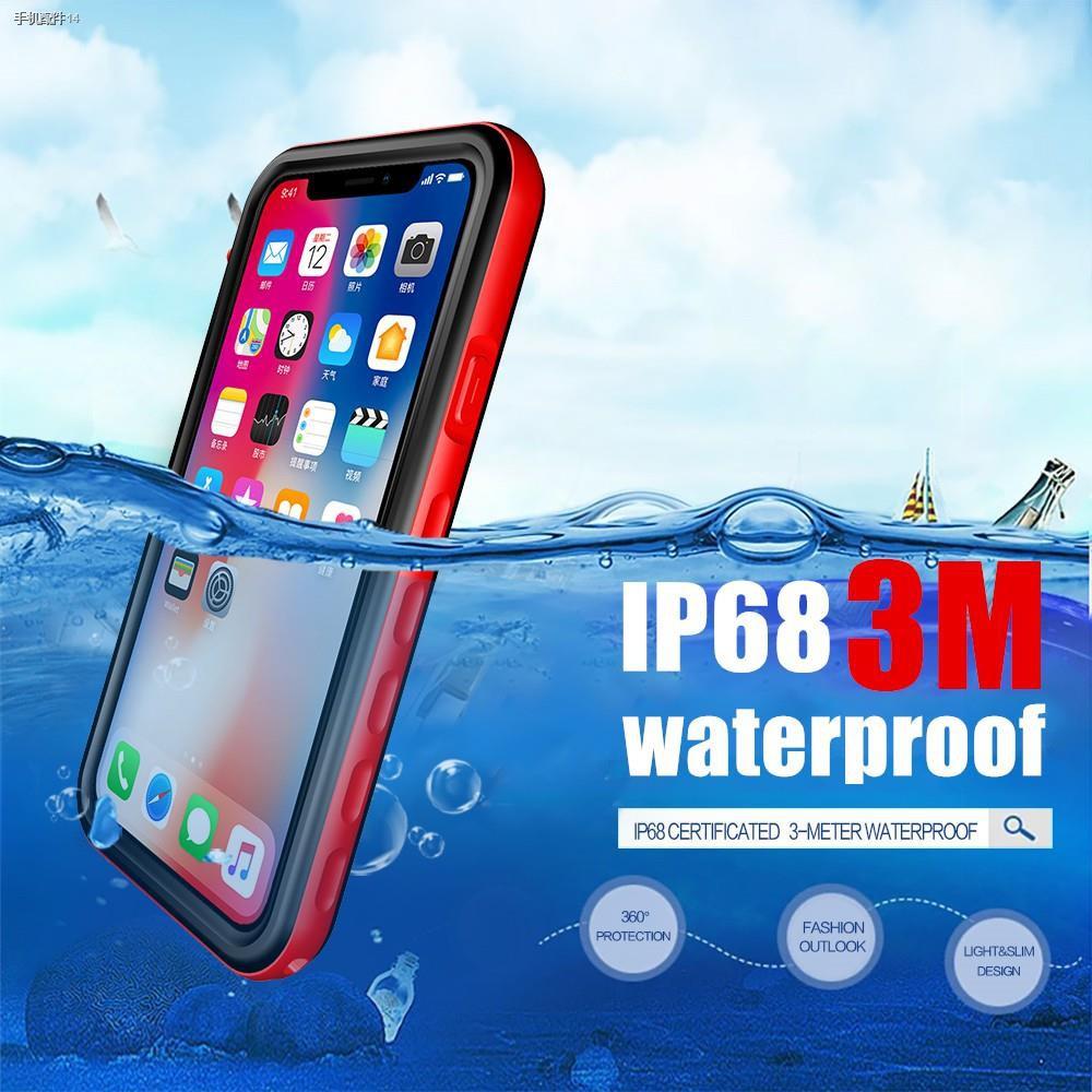 เคสกันน้ำ  แท้ IPhone X/XS MAX XR 6 6S+ 7/8 Plus 5/5S/SEทุกรุ่น!!! กันน้ำ100% underwater waterproof shockproof case