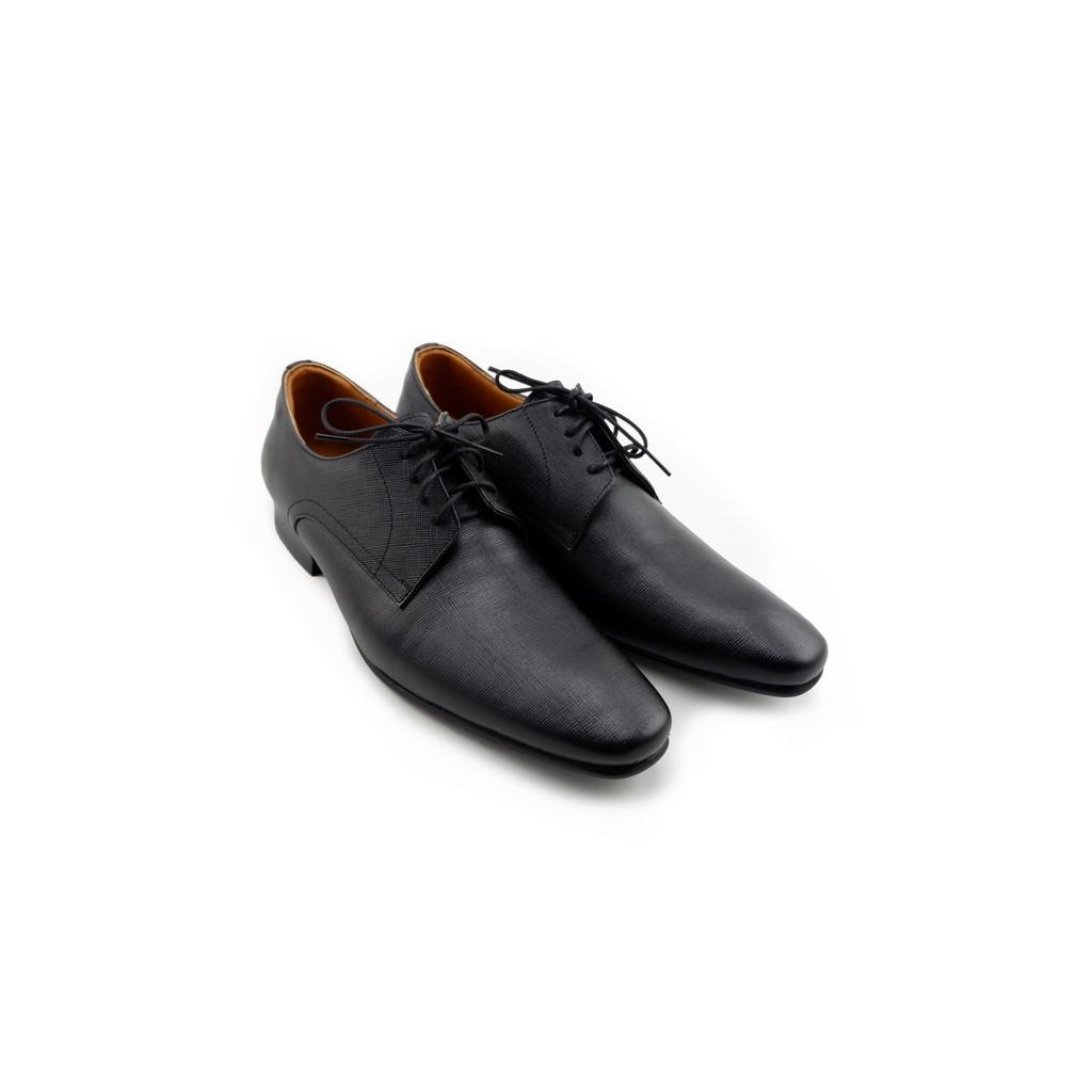 ❀LUIGI BATANI รองเท้าคัชชูหนังแท้  รุ่น LBD7042-51 สีดำ♡