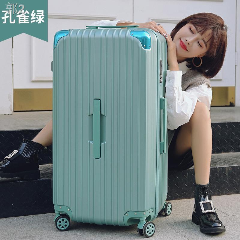 ☑กระเป๋าเดินทางขนาดใหญ่หญิงกระเป๋าเดินทางล้อลากขนาดใหญ่ชาย 32 นิ้วกระเป๋าเดินทางเบาพิเศษพร้อมล้อสากล 28 กระเป๋าเดินทาง