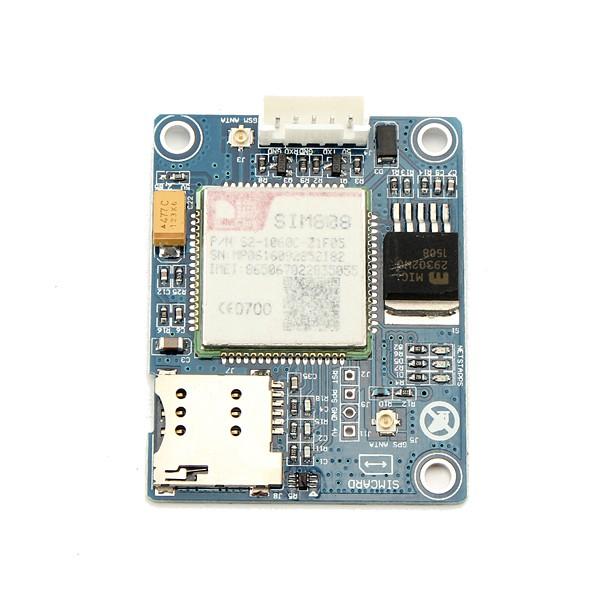 SIM808 โมดูลจีพีเอส GSM Quadband Quad คณะกรรมการพัฒนาบอร์ดสำหรับ Arduino