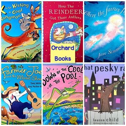 Picture books by Orchard Books หนังสือมือสอง ปกอ่อน