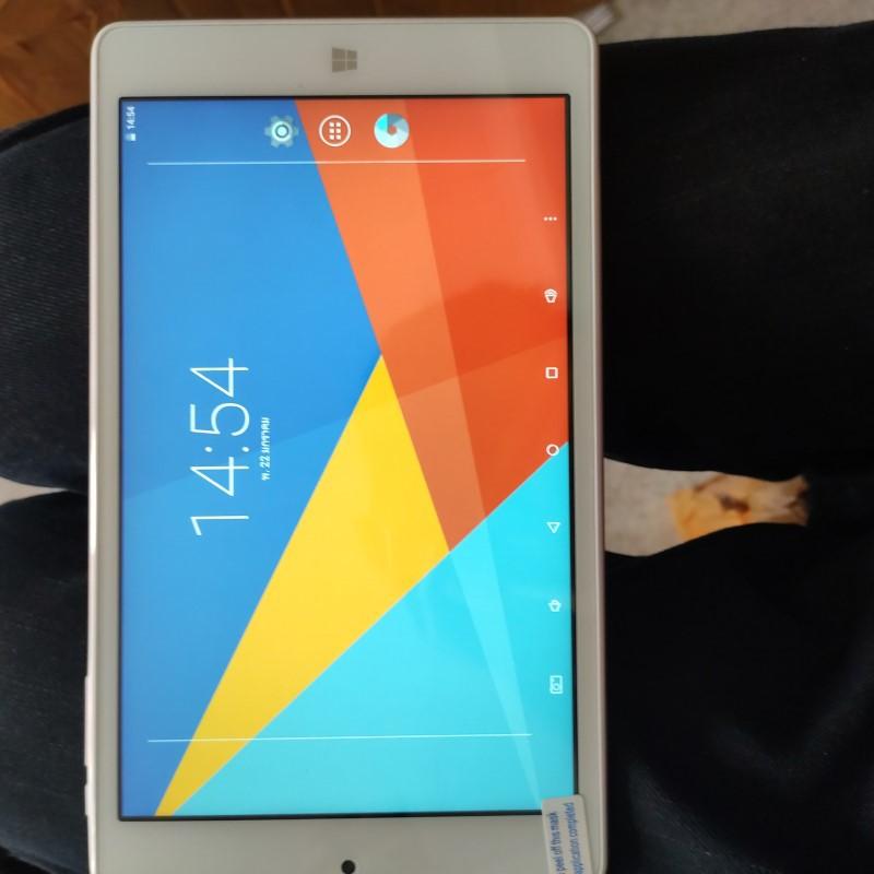 แท็บเล็ต Tablet Teclast X80 Power แท็บเล็ตมือสอง แท็บเล็ต 2 ระบบ ราคาถูก แท็บเล็ตสภาพพดี 2OS สีทอง ราคาประหยัด 8