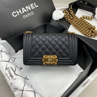 Review Chanel boy