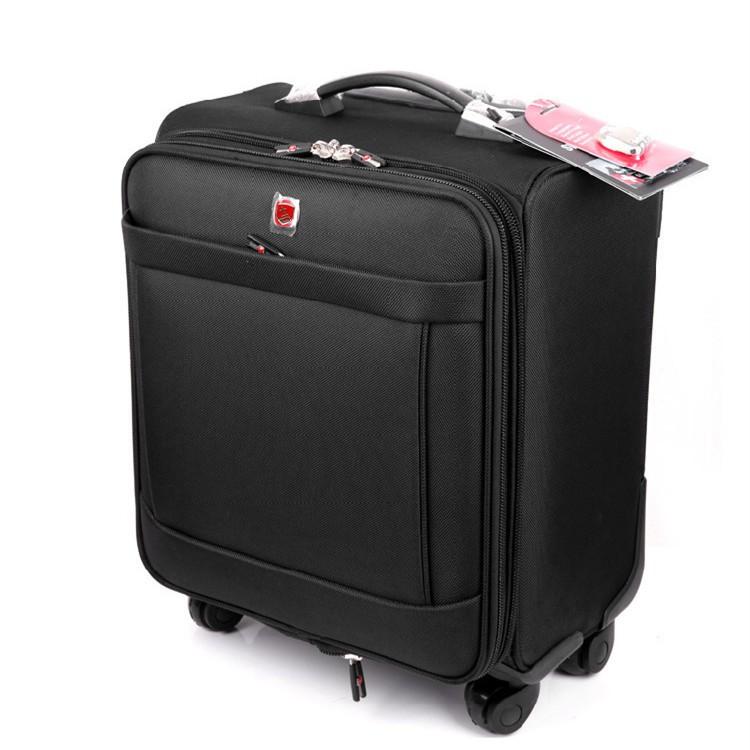 SwissGear กระเป๋าเดินทางที่มีประโยชน์กระเป๋าเดินทางผ้า Oxford กระเป๋าเดินทาง 1618 นิ้วกระเป๋าเดินทางสากล