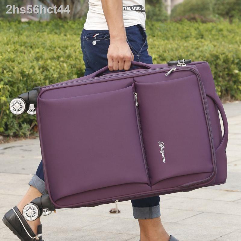 กระเป๋าเดินทางล้อลาก Oxford บราซิลสากล 30 นิ้วชายกระเป๋าเดินทางนักเรียนหญิงรหัสผ่านกระเป๋าเดินทาง 18 นิ้วซองหนัง 26
