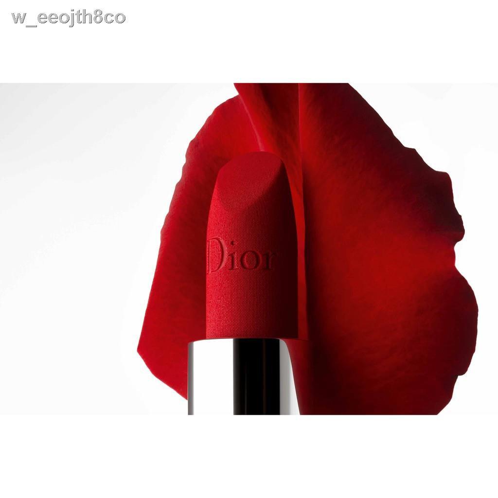 🔥รุ่นขายดี🔥🔥ลดราคา🔥✁❣▲ดิออร์ 999 ROUGE DIOR999 satin Lipstick ลิปสติก