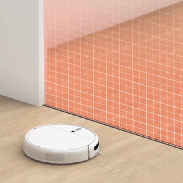 (พร้อมส่ง)หุ่นยนต์ดูดฝุ่นถูพื้น Mijia Robot 1C Vacuum and Mop Cleaner เชื่อมต่อแอพ Mi Home(global Version ) UCex