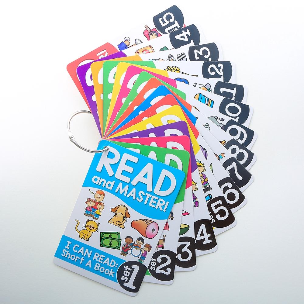54pcs อังกฤษ การ์ดแฟลช Baby flashcards English Phonics Practice Books Work Sheets Children Training Books