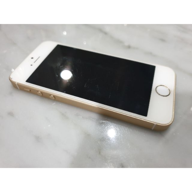 ขาย iphone SE 16GB มือสอง สีทอง ราคา 3,500 บาท