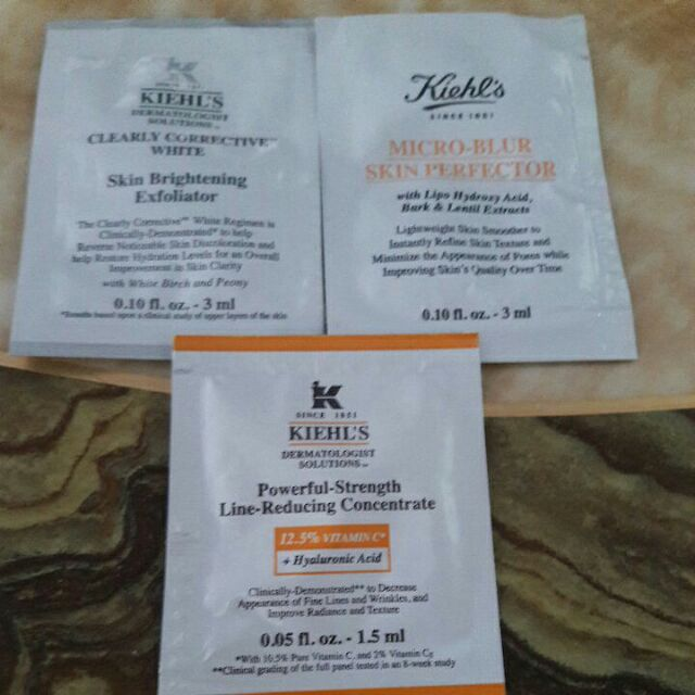 Kiehl's powerful concentrate