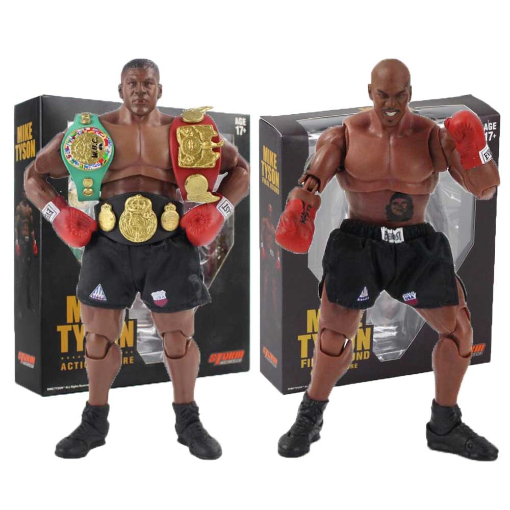 18cm 2Styles Mike Tyson Figure Toys Movable Figurine PVC Action Figure Collection Model Toy