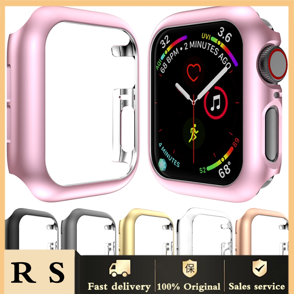 shopee10 40/44mm Anti-scratch Smart Watch Protective Case Cover for Apple iWatch 4 Series