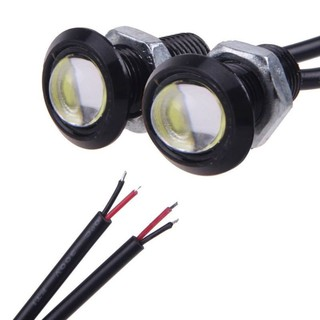Atv,rv,boat & Other Vehicle Frank 10pcs Durable 9w Cob Easy Led Eagle Eye Car Fog Light Drl Reverse Turn Light Kit