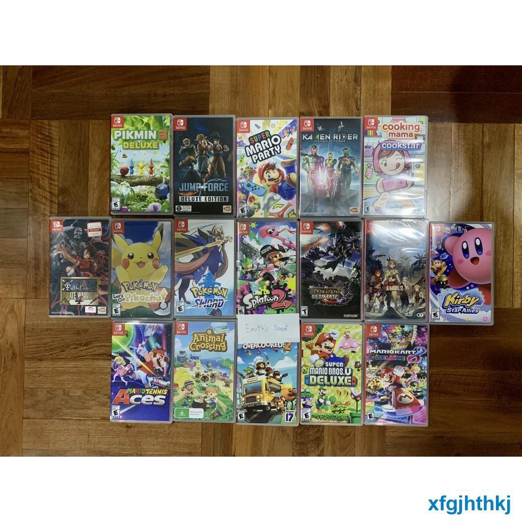 ❈แผ่นเกมส์ NintendoSwitch มือ1และมือสองมือ2 game มือสองมือ2 แผ่น มือสอง