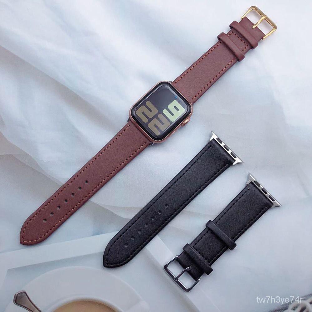 iWatch s6 se 12345 สายนาฬิกา applewatch สาย applewatch สาย applewatch แท้ สำหรับ Macapple watchสายหนังใหม่