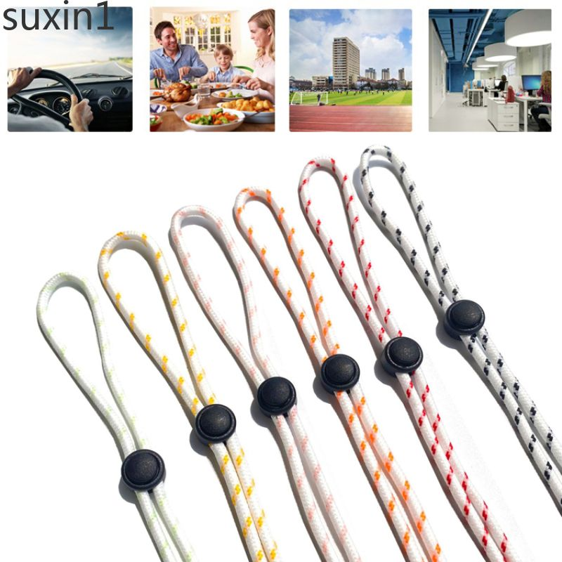 【lucky】 Fashion Hanging Mask Holder Rope Glasses Neck Necklace Women Lanyard Sunglasses suxin1