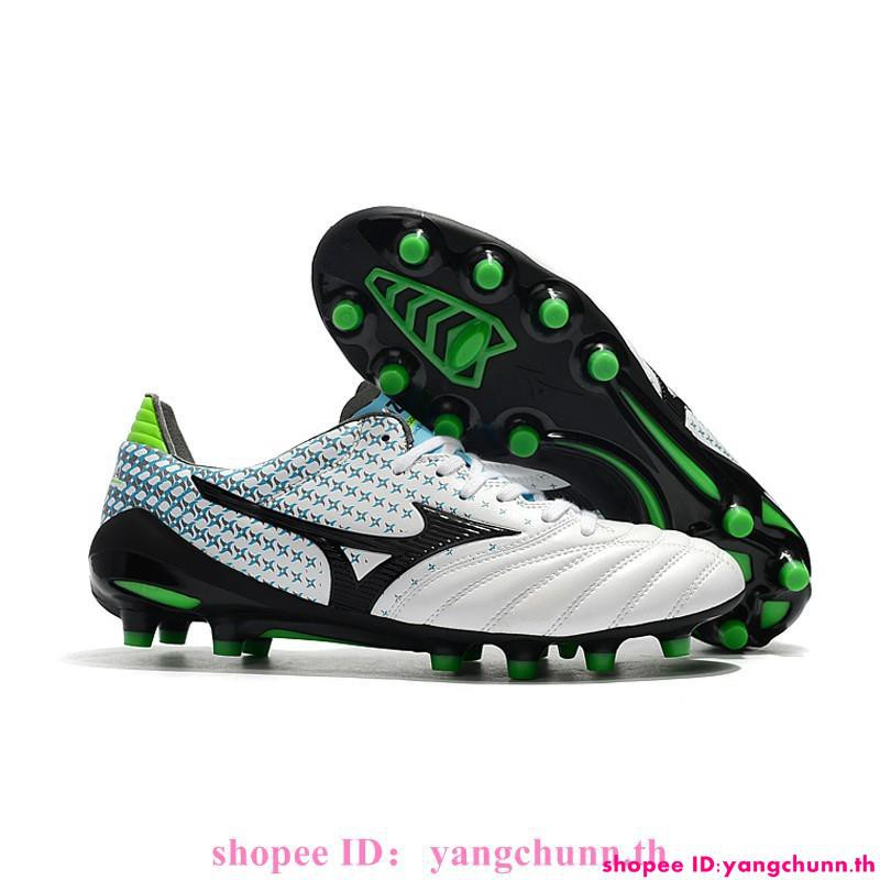 กีฬาและกิจกรรมกลางแจ้ง 100% Mizuno Morelia Neo II Made Japan รองเท้าฟุตบอล 39-45