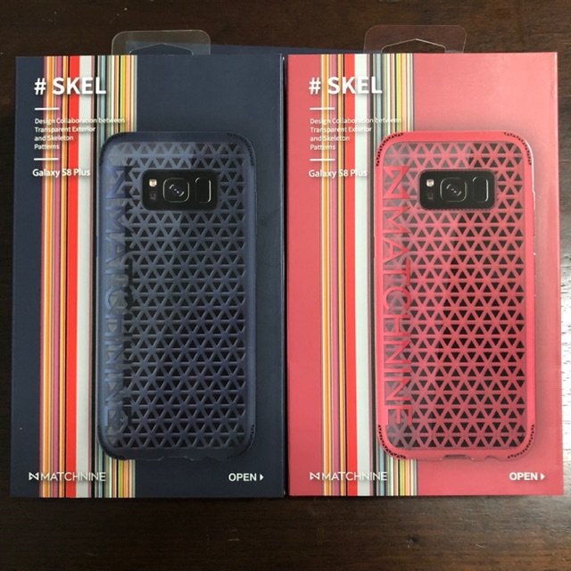 1 แถม 1 MATCHNINE Skel Case for Galaxy S8 Plus ของแท้มือหนึ่ง
