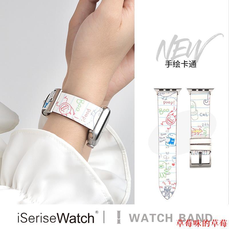 สายนาฬิกาข้อมือสําหรับ Applewatch Se Iwatch 6 / 5